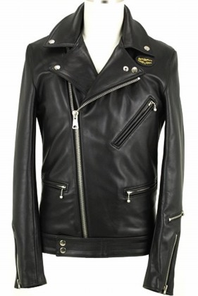Lewis Leathers /441T Cyclone (Tight Fit) COW HIDE (BK)