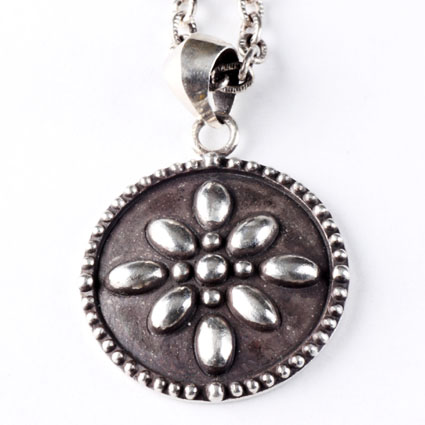 RUDE GALLERY / STUDS NECKLACE (SIL)