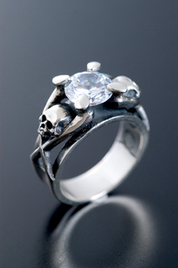 MAGICAL DESIGN / CAVERINA RING (CLEAR)