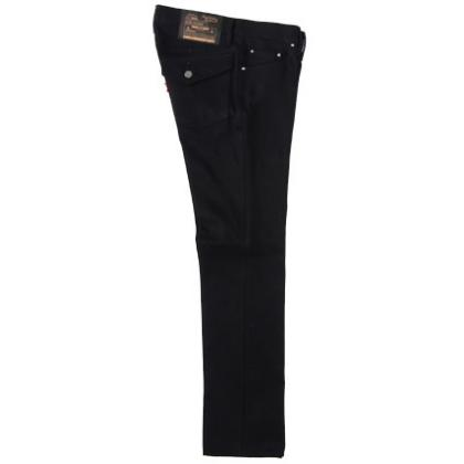 RG / TYPE-1 DENIM PANTS-TIGHT STRAIGHT(BK)