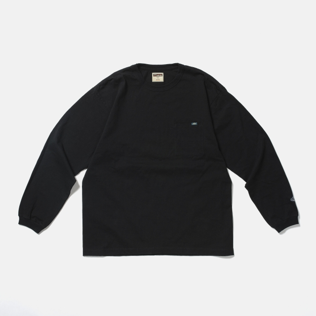 LOST CONTROL / Relax L/S TEE (BK)