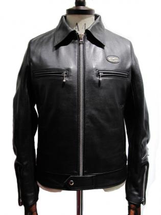 Lewis Leathers / #551T / TIGHT FIT DOMINATOR COW HIDE (BK)