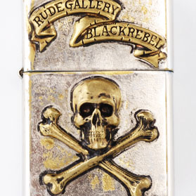 RG BLACK REBEL / CHAOS DESIGN OIL LIGHTER