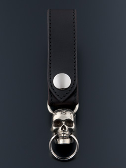 MAGICAL DESIGN / MOVABLEJAW SKULL KEY RING (SILVER)
