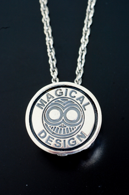 MAGICAL DESIGN / LOTUS PENDANT (BK)