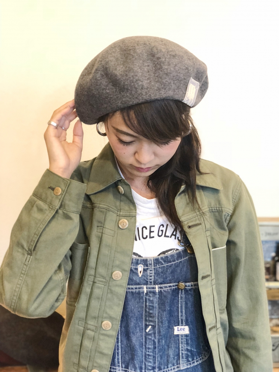 THE H.W. DOG & CO. / BERET (C.GRY)