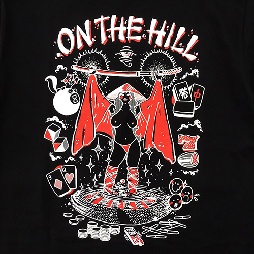 SUPRATE / ON THE HILL TEE (BK)