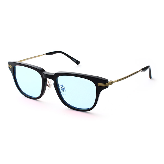 BLACK FLYS / FLY BRAXTON (BLACK-GOLD/LIGHT BLUE )