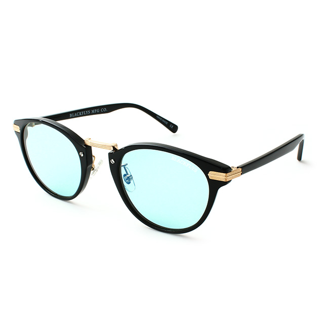 BLACK FLYS / FLY VINCENT (BLACK-GOLD/LIGHT BLUE)
