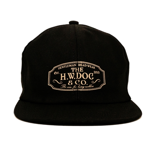 THE H.W. DOG & CO. / TRUCKER CAP (BK)