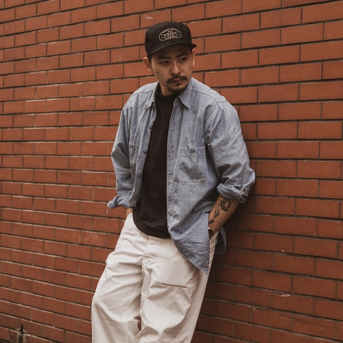THE H.W. DOG & CO. / TRUCKER CAP (BK) - ウインドウを閉じる