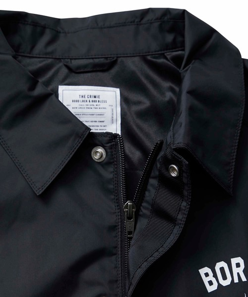 CRIMIE / MARIA COACH JACKET (BK)
