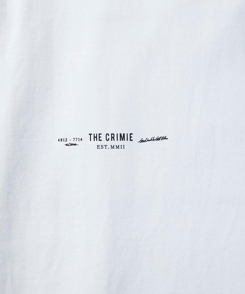 CRIMIE / CR BOX LOGO POCKET T-SHIRT (WH)