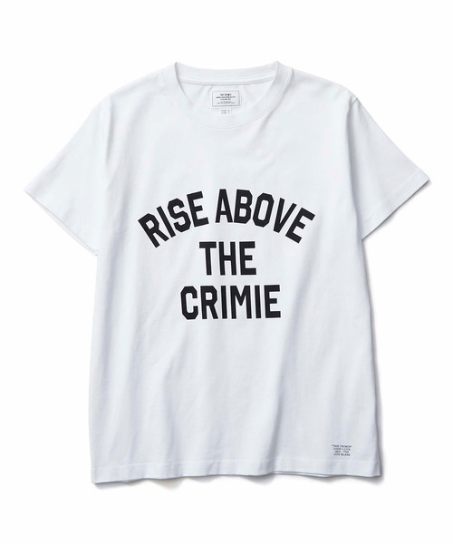 CRIMIE / RISE ABOVE T-SHIRT (WH)