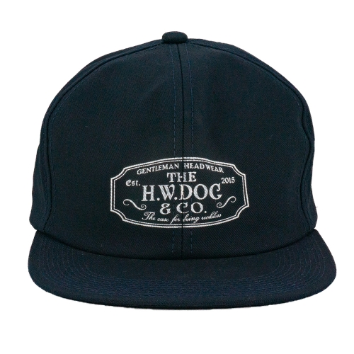 THE H.W. DOG & CO. / TRUCKER CAP (NAVY)