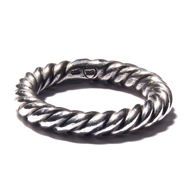 RUDEGALLERY / TWIST RING (SIL)
