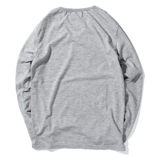 RG / GENERAL UNDERWEAR -U NECK L/S (GRY)
