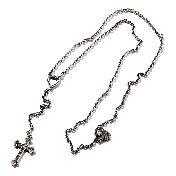 RG / CROSS NECKLACE (SILVER)
