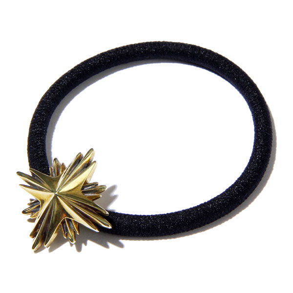 RG / HAIR RUBBER BAND LARGE -STARBURST (GO)
