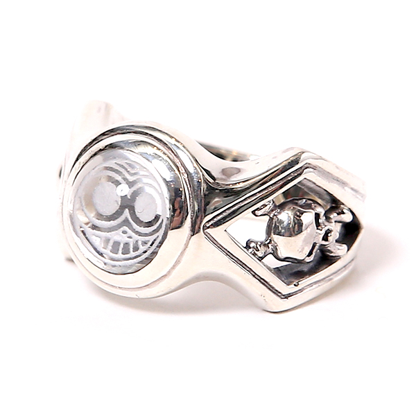 MAGICAL DESIGN / MARKED CRYSTAL RING (SIL)