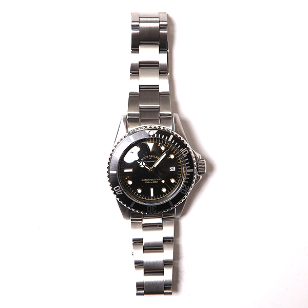 RG / GOOD OLD DIVER DATE WATCH (SIL)