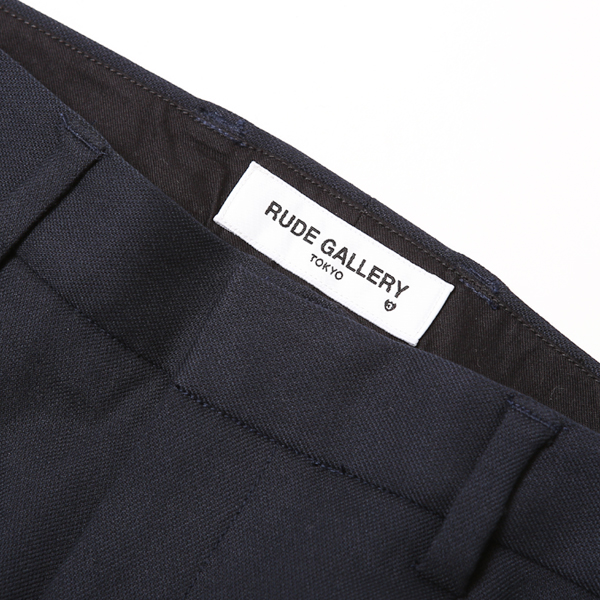 RG / TUCK TROUSERS (NAVY)