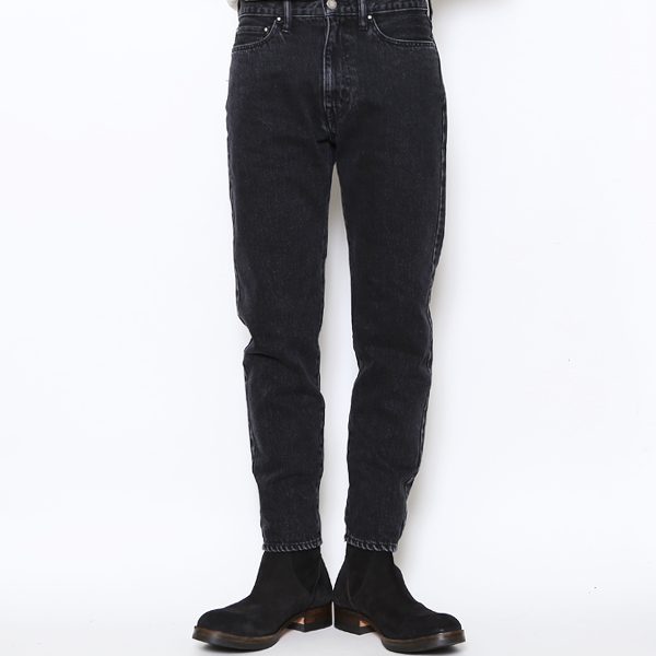 RG / TAPERED PANTS - STONE BIO ECO BLEACH (BK)