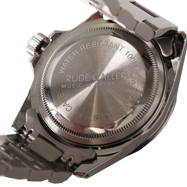 RG /GOOD OLD DIVER WATCH LUXES - STAINLESS STEEL