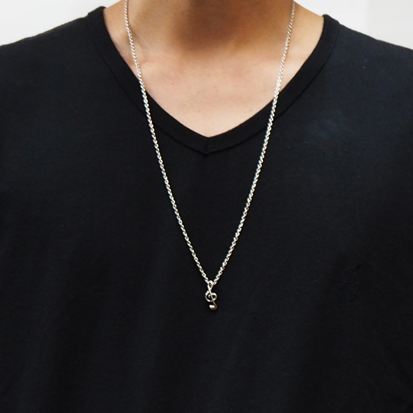RG / ONPU NECKLACE - TREBLE CLEF (GOLD)