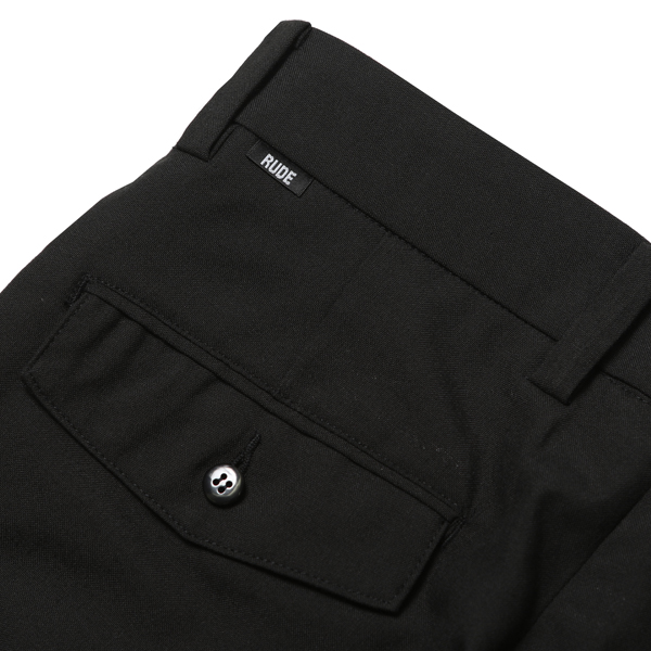 RG / TUCK TROUSERS (BK)