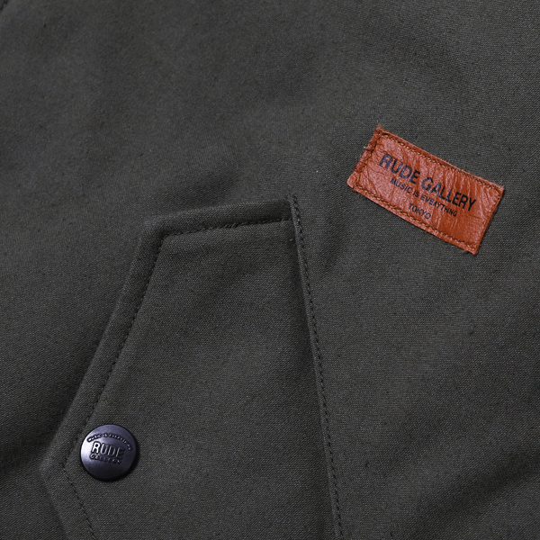 RG / RABBIT COAT (OD)