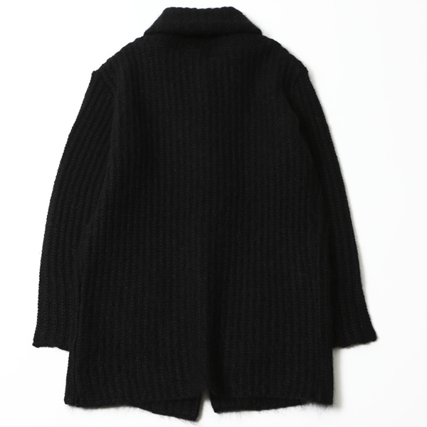 RG / SHAWL COLLAR CARDIGAN (BK) - ウインドウを閉じる