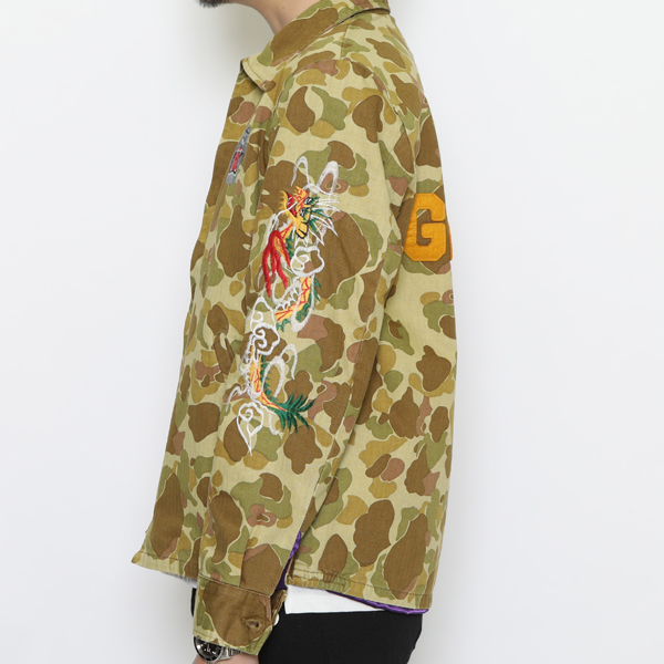 RG / VIETNAM JACKET - STONED DRAGON (CAMO)