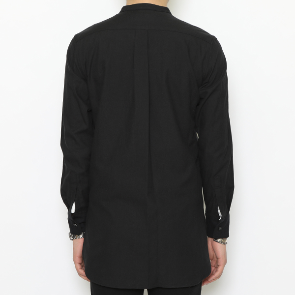 RG / TASTY BAND COLLAR LONG SHIRT (BK)