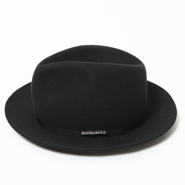 RG / WOOL SUEDE HAT - STETSON COLLABORATION (BK)