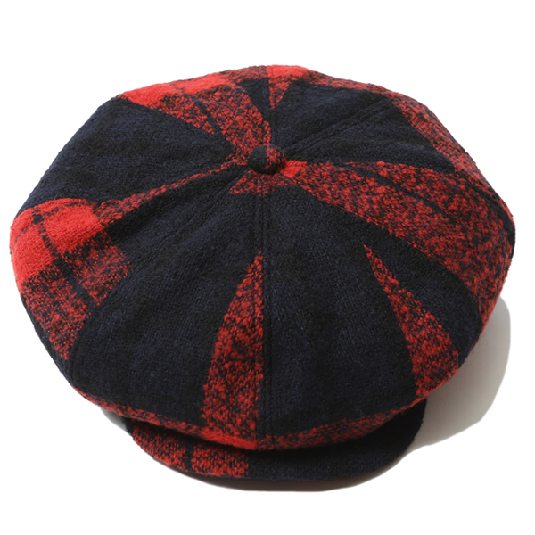 RG / WOOL CASQUETTE (RED)