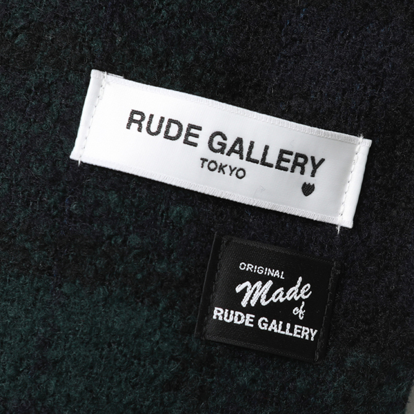 RG / WOOL STOLE (GREEN)