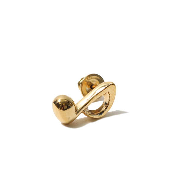 RG / ONPU PIERCE - MUSIC NOTE (GOLD)