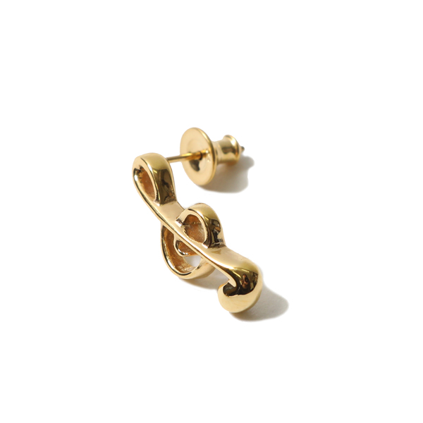 RG / ONPU PIERCE - TREBLE CLEF (GOLD)