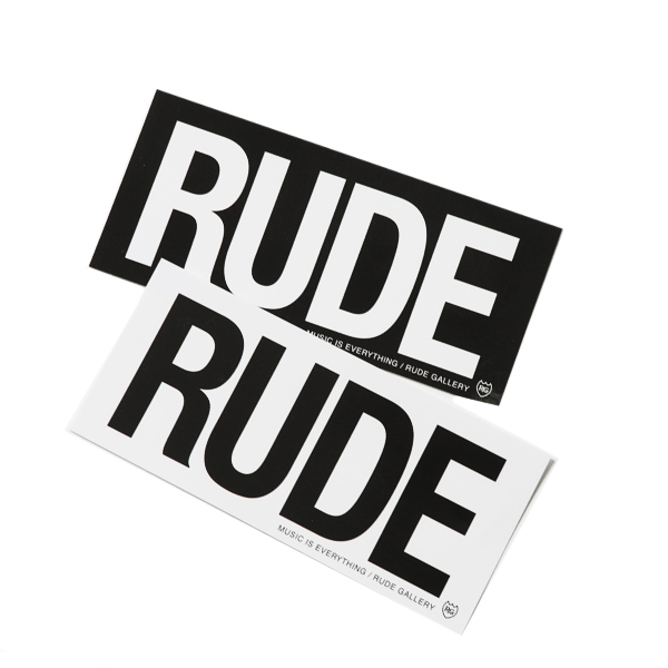 RG / RUDE STICKER SET