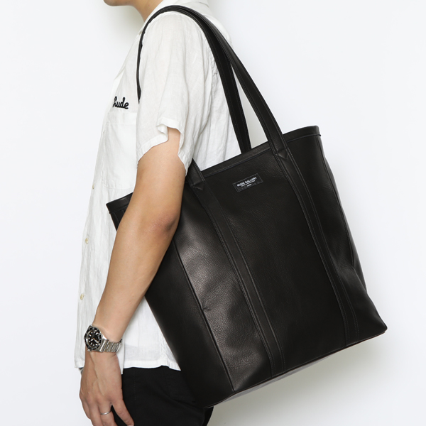 RG / LEATHER TOTE BAG