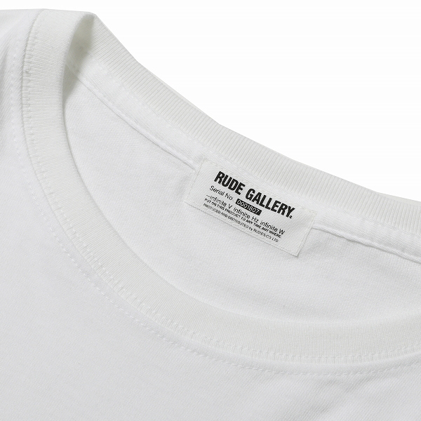 RG / MADE IN MUSIC BIG SILHOUTTE TEE (WH)