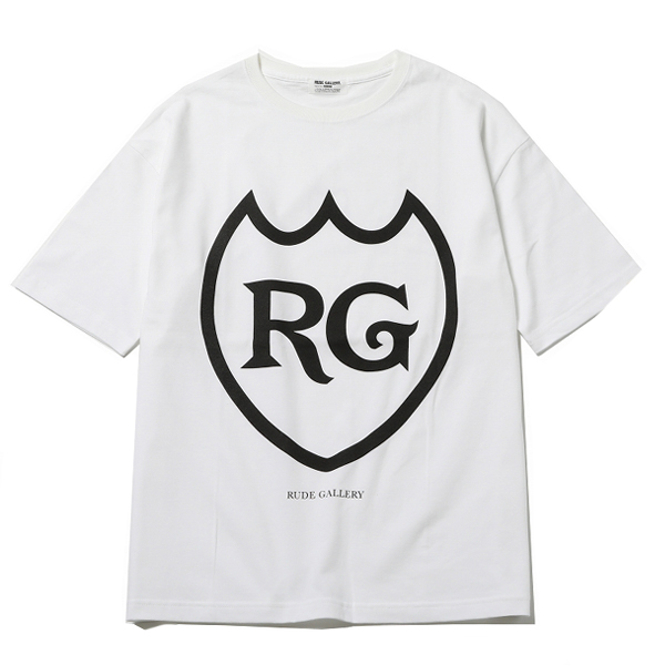 RG / LABEL BIG SILHOUTTE TEE (WH)