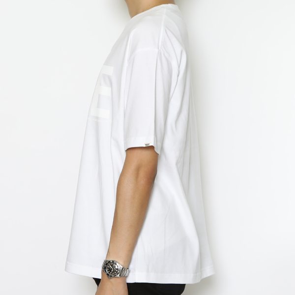 RG / RUDE BIG SILHOUETTE TEE - CLEAR (WH) - ウインドウを閉じる