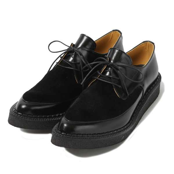 RG / LOVER SHOES - BLACK HAIR CALF