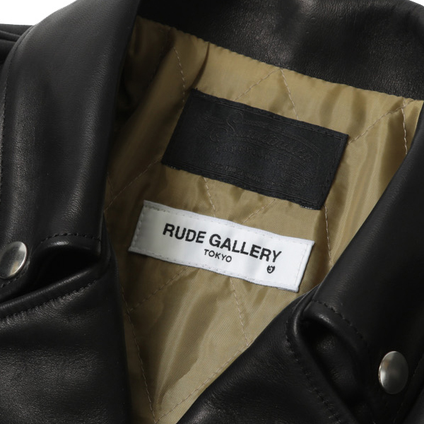 RG /SUNDINISTA EXPERIENCE × RUDE GALLERY DOUBLE RYDERS JACKET