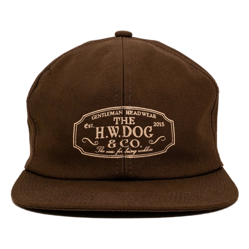 THE H.W. DOG & CO. / TRUCKER CAP (BROWN)