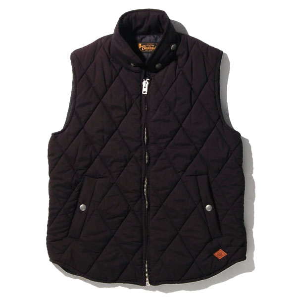 RG BLACK REBEL / REBELS QUILT VEST (BK)