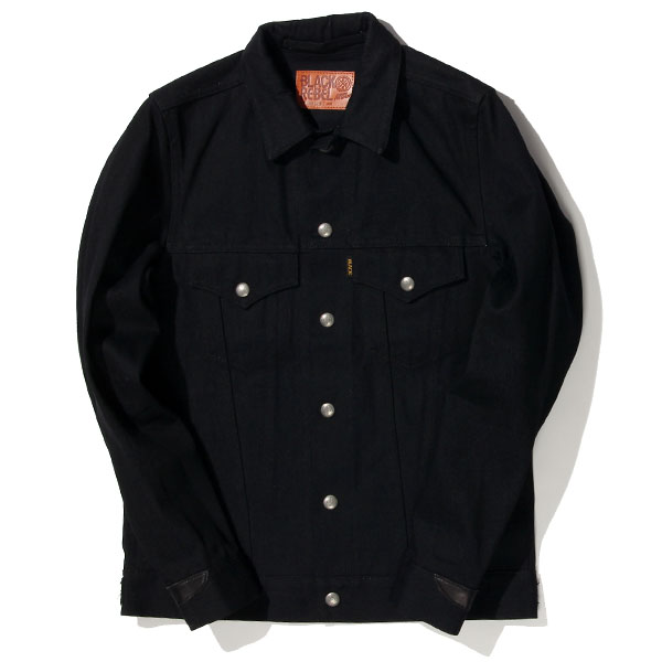 RG BLACK REBEL / Road Jack-I DENIM JKT (BK)