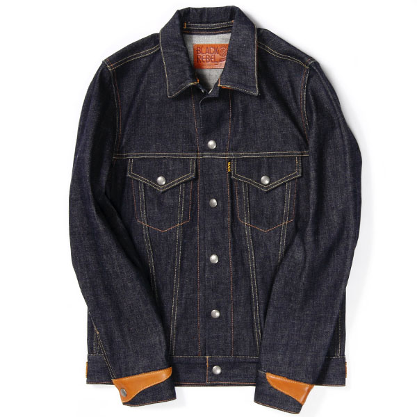 RG BLACK REBEL / Road Jack-I DENIM JKT (IND)